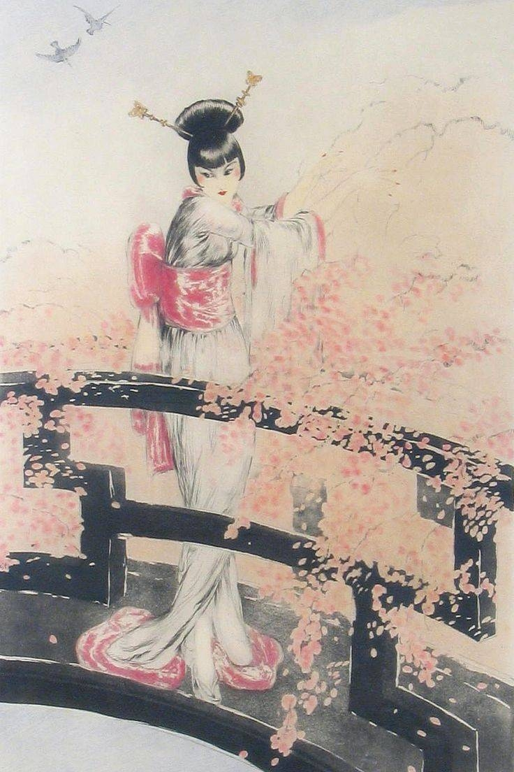 421 Best Contemporary Geisha Art Images On Pinterest | Geishas With Regard To Most Popular Geisha Canvas Wall Art (View 2 of 20)