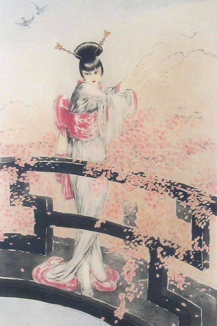 421 Best Contemporary Geisha Art Images On Pinterest | Geishas With Regard To Most Popular Geisha Canvas Wall Art (Gallery 19 of 20)