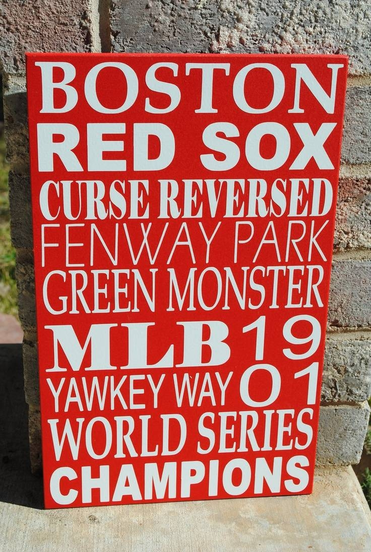 44 Best Red Sox Room Images On Pinterest | Red Socks, Boston Red With Most Current Red Sox Wall Decals (Gallery 11 of 30)