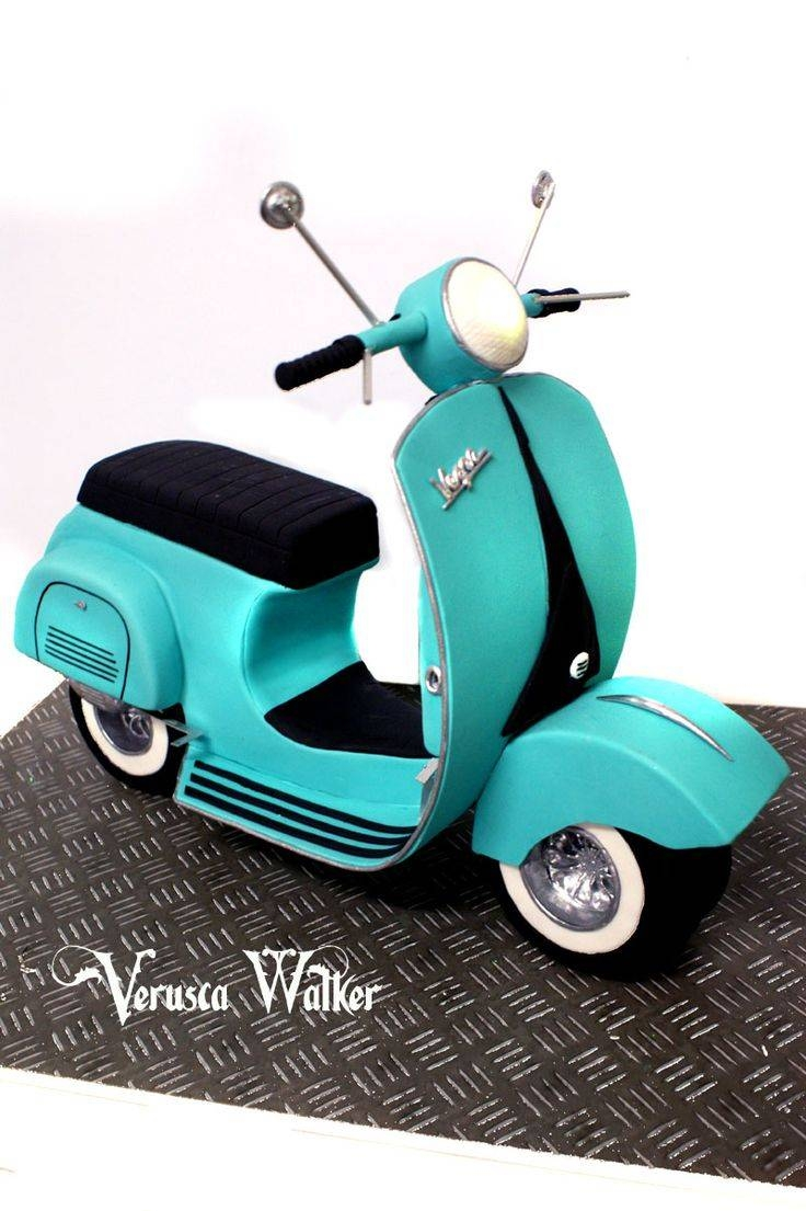 45 Best Vespa In Pdz Images On Pinterest | Vespa Cake, Modeling In Latest Vespa 3D Wall Art (Gallery 7 of 20)