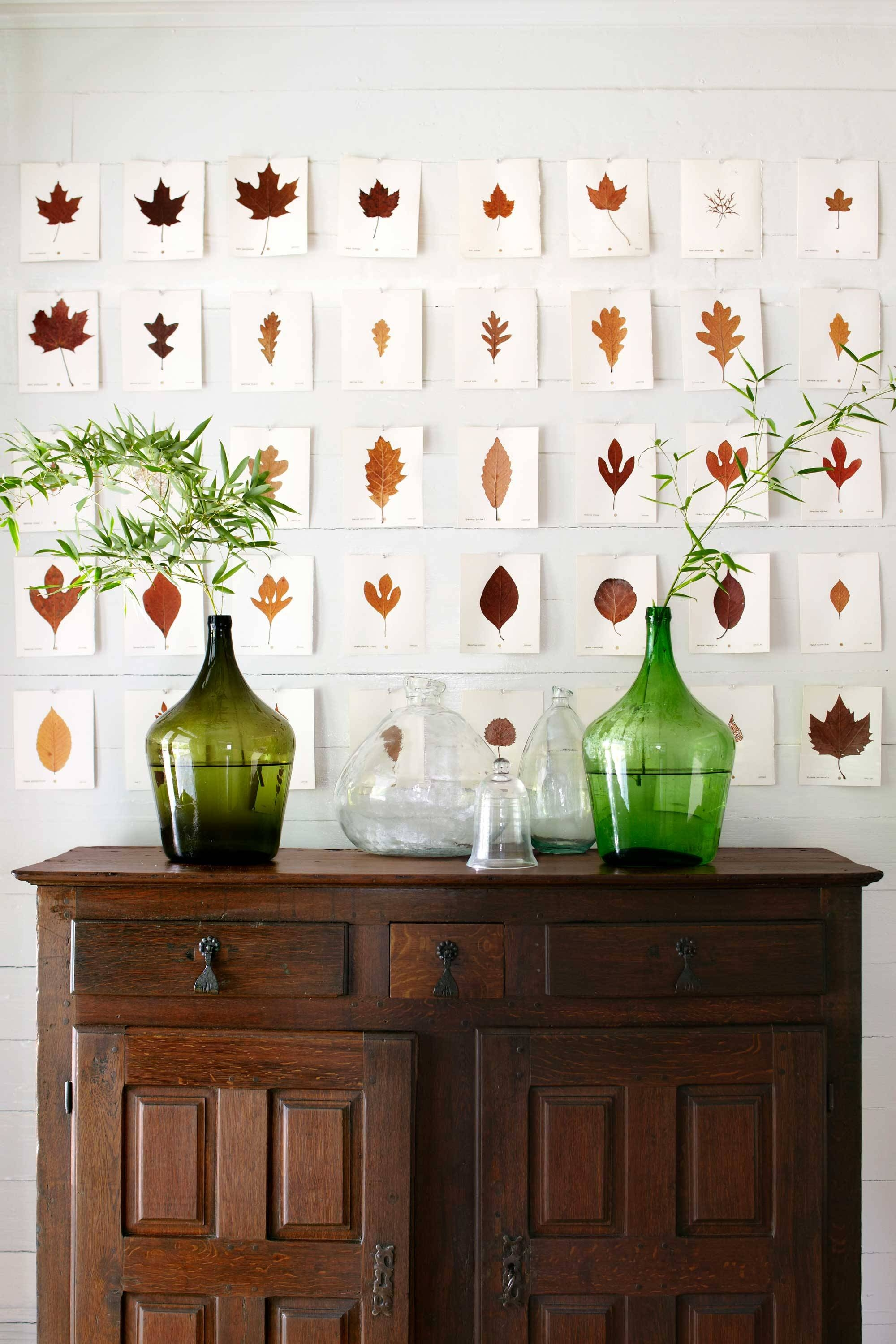 47 Easy Fall Decorating Ideas – Autumn Decor Tips To Try With Latest Autumn Inspired Wall Art (View 17 of 25)