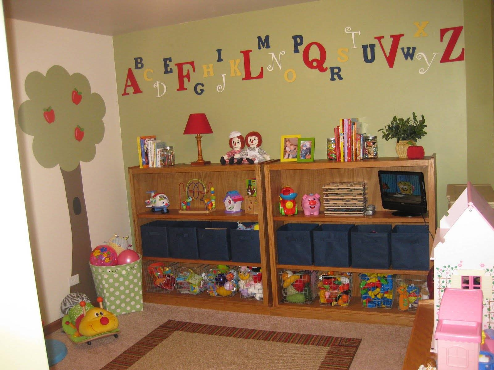 5 Most Inviting Playroom Ideas For Kids - 42 Room throughout 2018 Playroom Wall Art