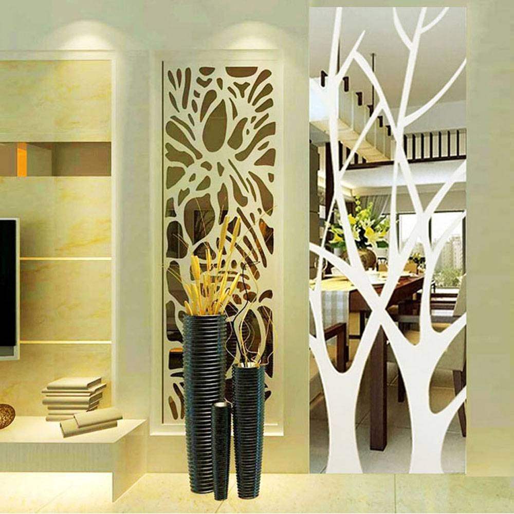 Featured Photo of Abstract Mirror Wall Art