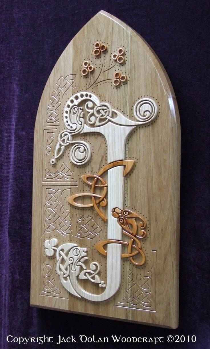 578 Best Cnc Images On Pinterest | Cnc Projects, Laser Cutting And regarding Latest Celtic Tree Of Life Wall Art