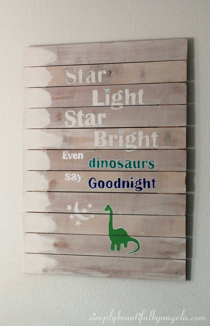 59 Best Kids Dino Decor Images On Pinterest | Dinosaur Nursery With Regard To Most Popular Beetling Brachiosaurus Dinosaur 3D Wall Art (View 3 of 20)