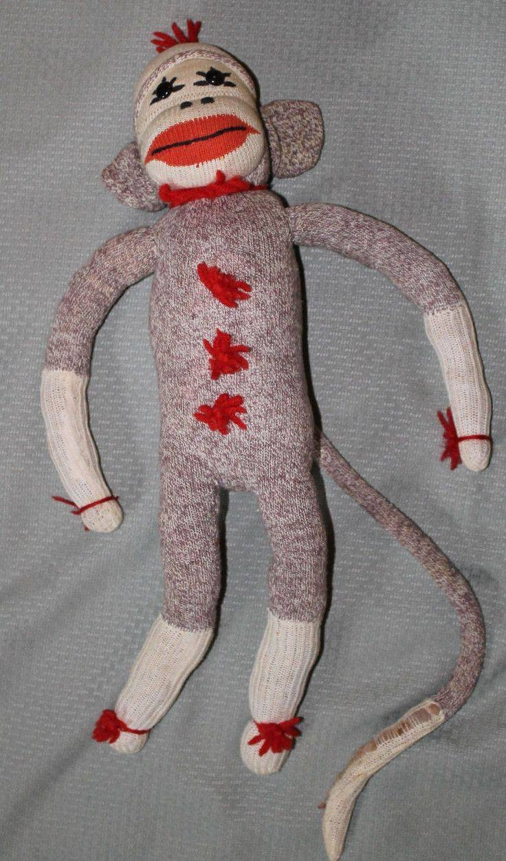 611 Best Sock Monkey Images On Pinterest | Sock Monkeys, Sock Toys Throughout Recent Sock Monkey Wall Art (View 12 of 30)