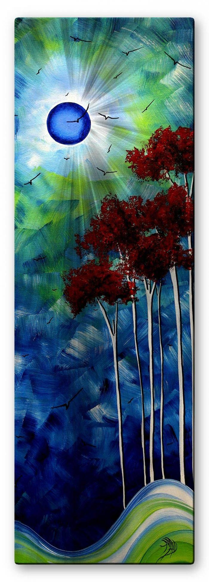 65 Best Artist  Megan Duncanson Images On Pinterest | Abstract Art For Most Popular Ash Carl Metal Art (Gallery 29 of 30)