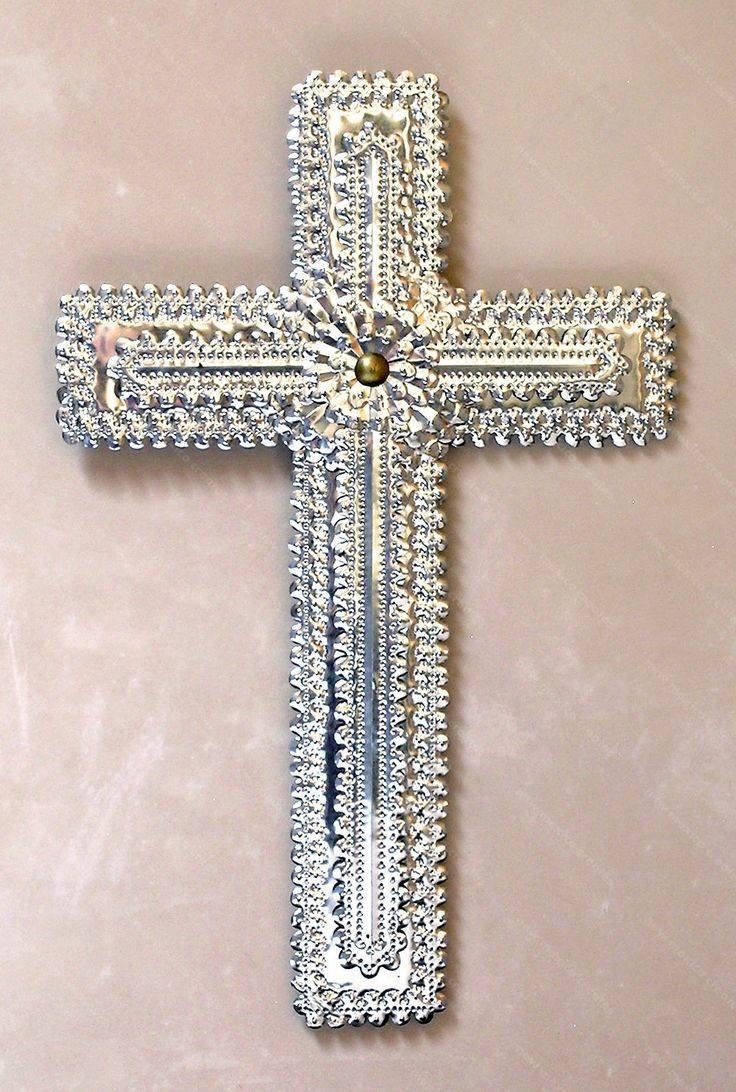 659 Best ~ Mexican Crosses ~ Images On Pinterest | Mexican Folk Throughout Latest Mexican Metal Wall Art (View 4 of 30)
