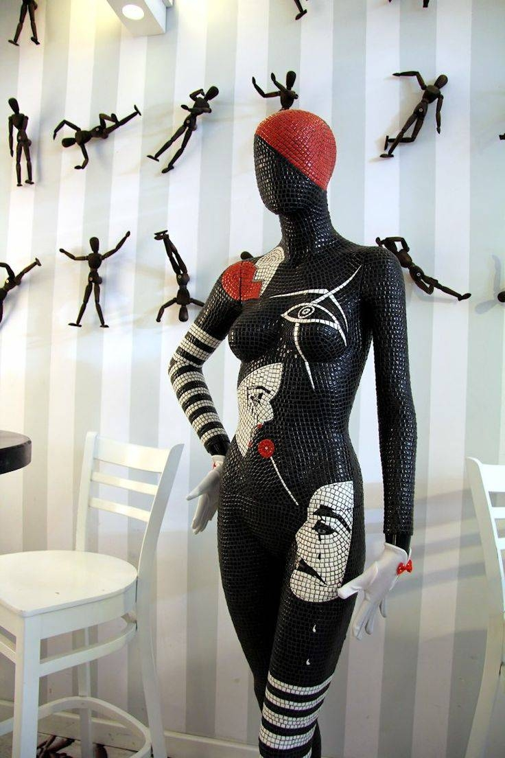 66 Best Mosaics Art London Images On Pinterest | Mosaics, Bespoke Within Recent Mannequin Wall Art (Gallery 9 of 20)