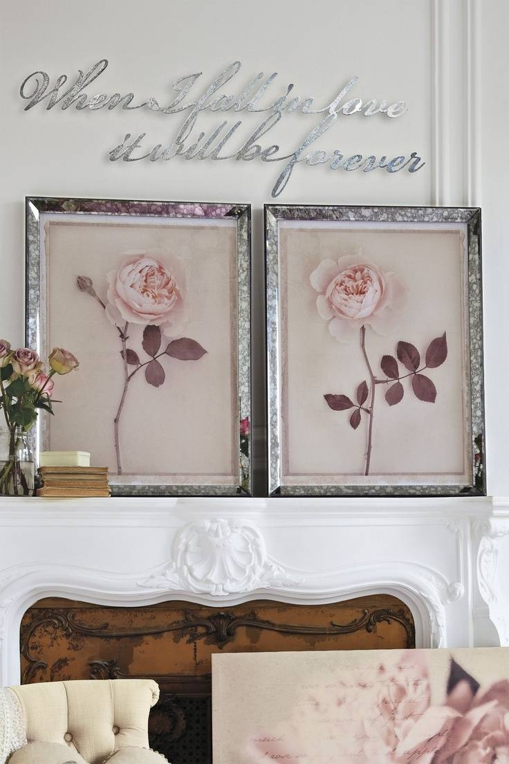Showing Photos of Mirrored Frame Wall Art (View 2 of 20 Photos)