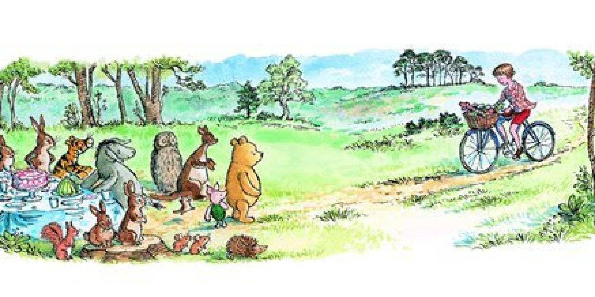 8 Heartbreakingly Adorable Quotes From Winnie The Pooh | Huffpost With Most Up To Date Classic Pooh Art (View 15 of 20)