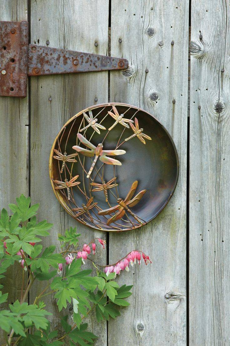 878 Best Metal Craft Images On Pinterest | Metal Crafts, Metal With Regard To Latest 3D Garden Wall Art (View 7 of 20)