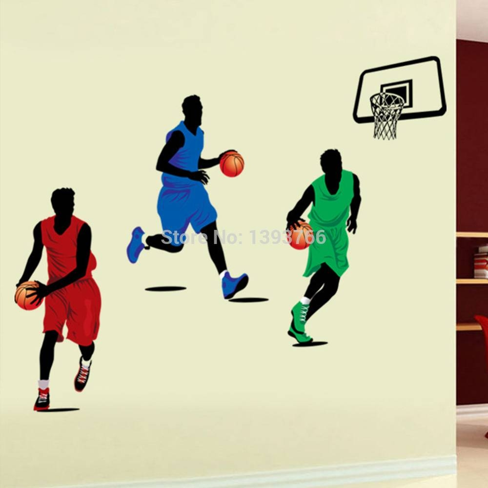 90*160Cm Football Stars Wall Stickers For Kids Room Wall Decals Throughout Most Up To Date Football 3D Wall Art (View 5 of 20)
