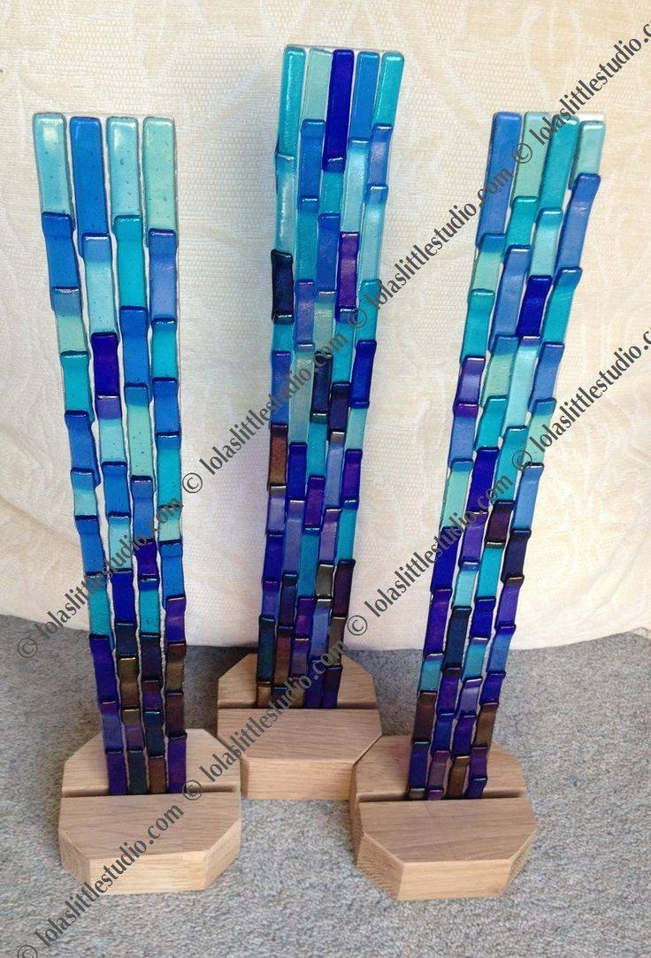 991 Best Fused Glass Images On Pinterest | Stained Glass, Glass Regarding Most Recent Glass Wall Artworks (View 7 of 15)