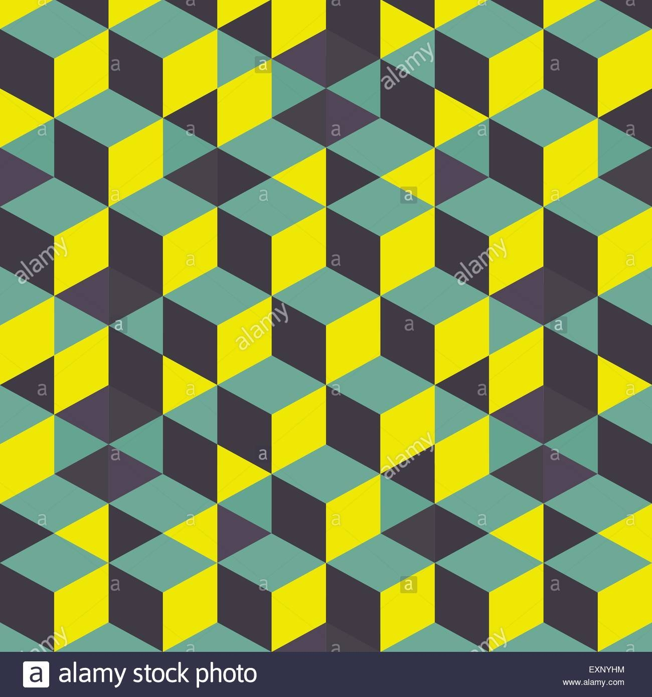 Abstract 3D Background – Wall Of Cubes. Vector Illustration (View 19 of 20)