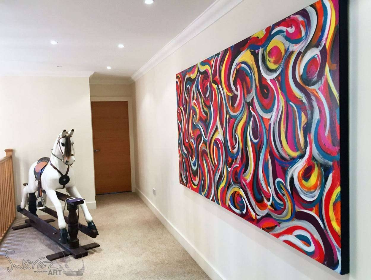 Abstract And Modern Art For Sale | Stunning Original Paintings In Best And Newest Uk Contemporary Wall Art (View 3 of 20)