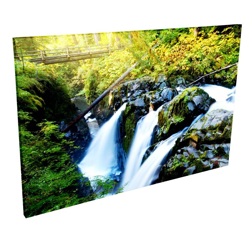 Acoustic Wall Art | Acoustic Geometry With Recent Waterfall Wall Art (View 10 of 20)