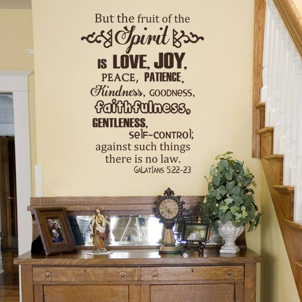 Adorable 30+ Fruit Of The Spirit Wall Art Decorating Design Of With 2018 Fruit Of The Spirit Wall Art (View 5 of 30)