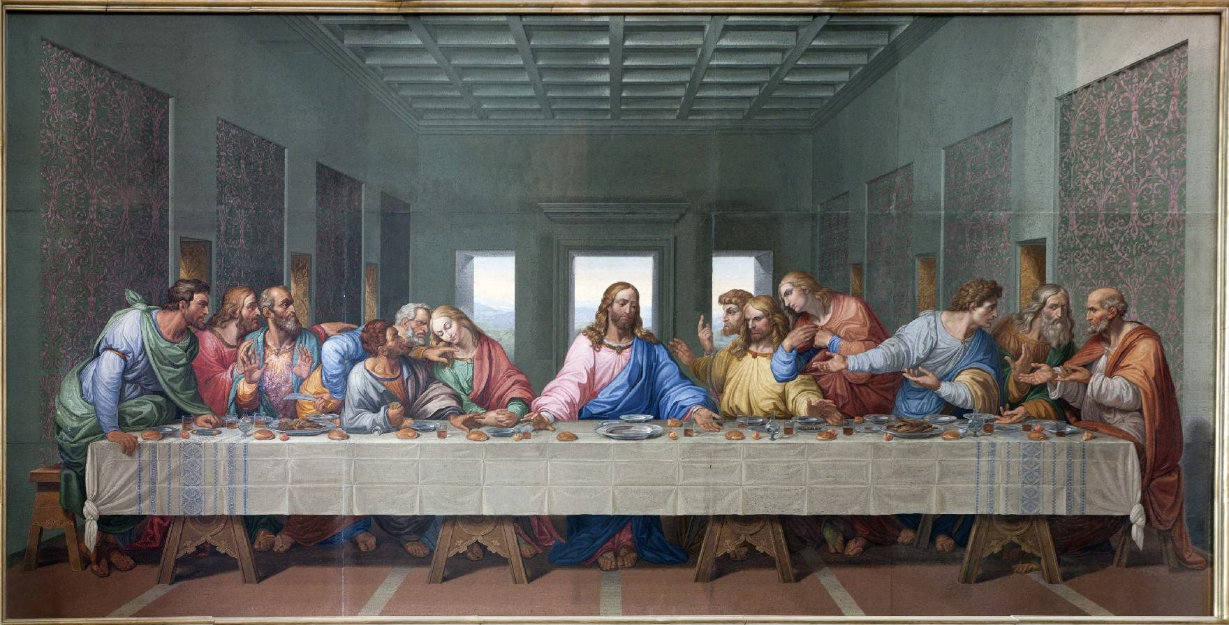 Adorable 60+ The Last Supper Wall Art Design Decoration Of Last Regarding Latest Last Supper Wall Art (View 5 of 20)