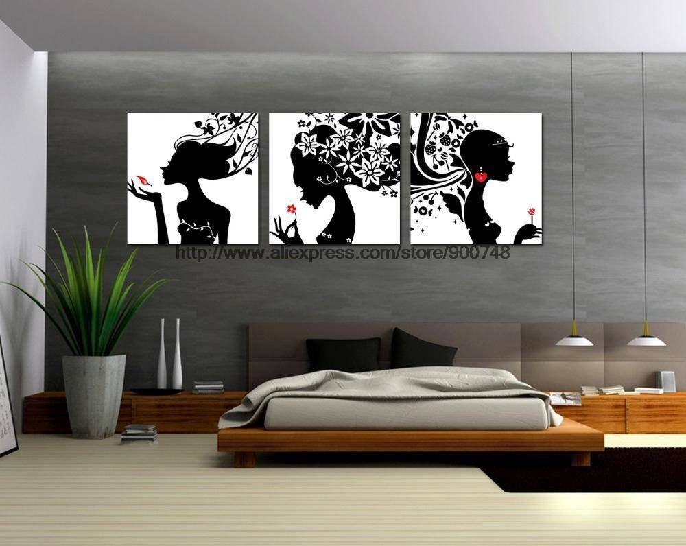 Adorable 60+ Wall Art Black And White Design Inspiration Of Best For Most Current Cheap Black And White Wall Art (View 3 of 20)