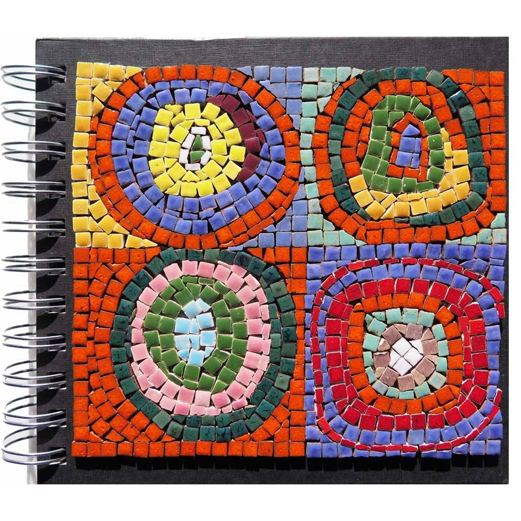 Adult Mosaic Kit Inspiredwassily Kandinsky With Mini Mosaic Throughout Recent Mosaic Art Kits For Adults (View 11 of 20)