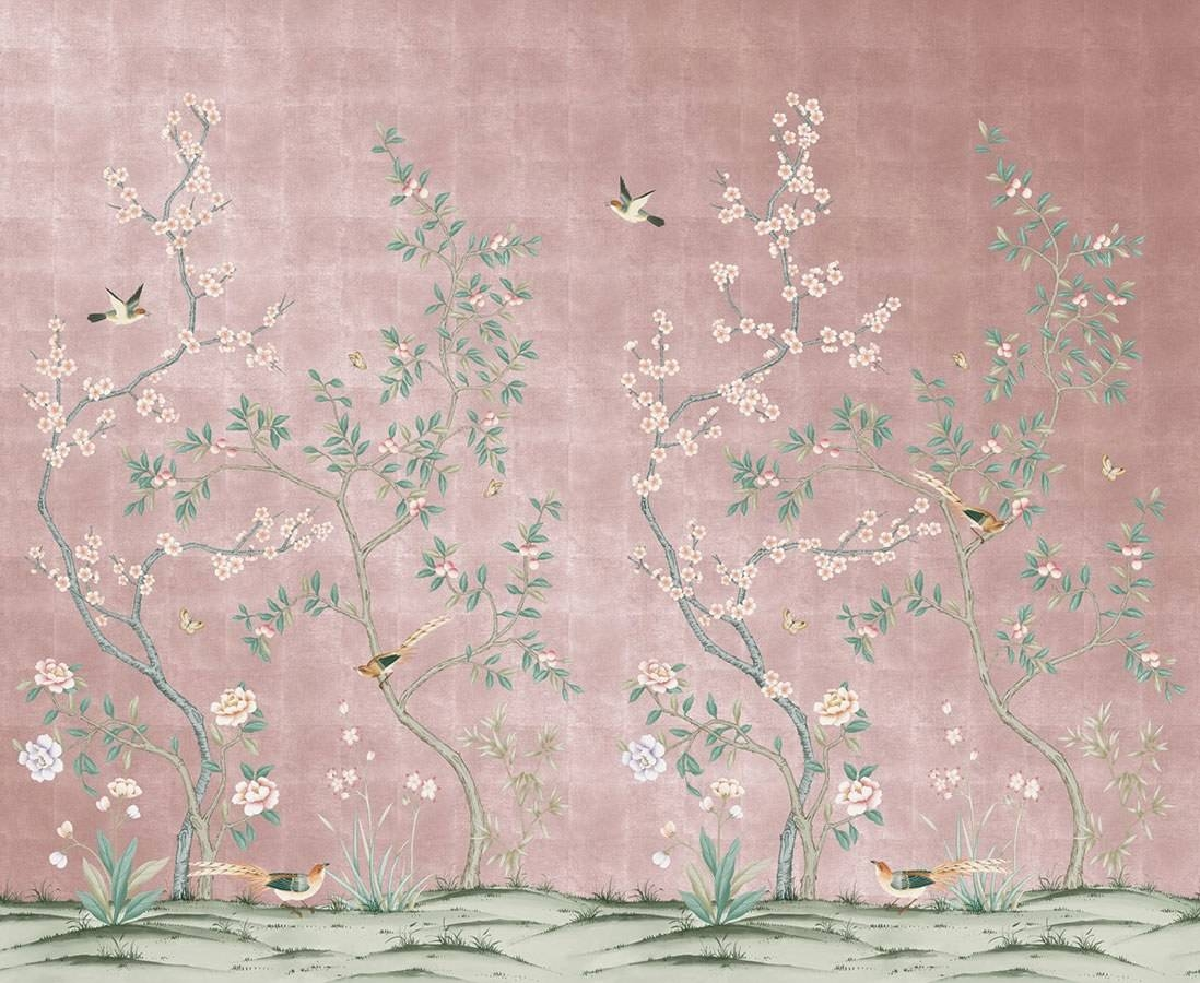 Affordable Temporary Chinoiserie Wallpaper – Vogue Regarding Newest Chinoiserie Wall Art (View 6 of 30)