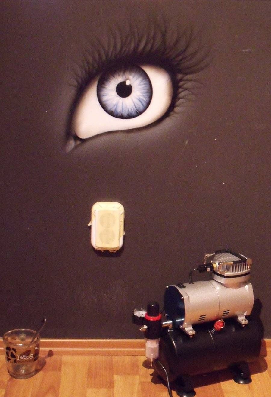 Airbrush On My Walldzsyna96 On Deviantart Intended For 2017 Airbrush Wall Art (View 4 of 20)