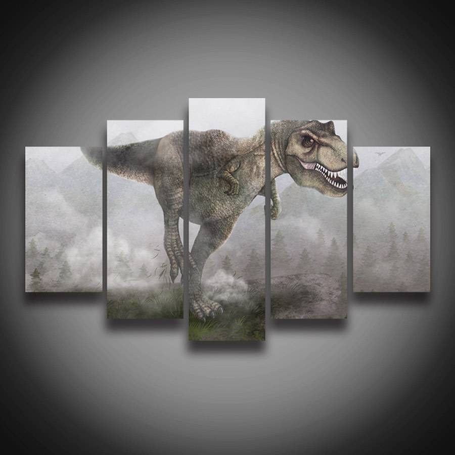 Featured Photo of Dinosaur Canvas Wall Art
