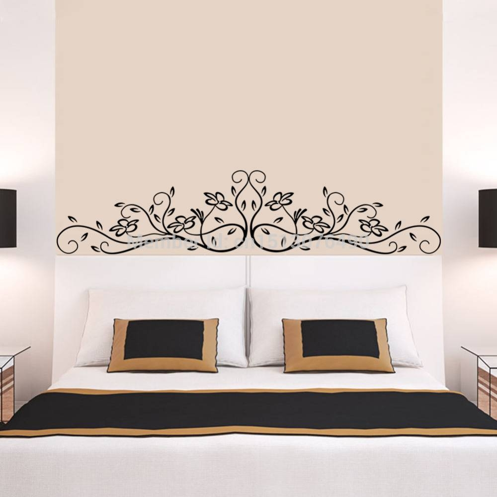 Aliexpress : Buy Hot Selling Vine Flower Floral 3D Wall Pertaining To Most Popular 3D Wall Art For Bedrooms (View 9 of 20)