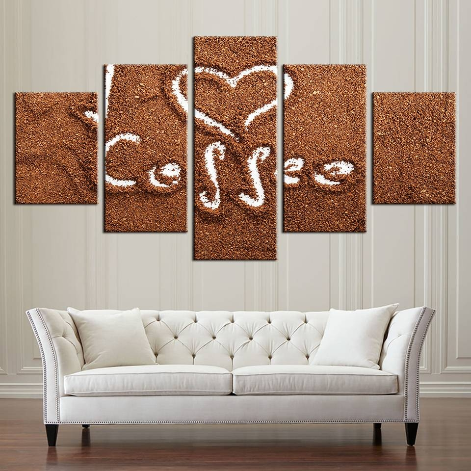 Aliexpress : Buy Modular Canvas Paintings Wall Art Frame For For Newest Modular Wall Art (View 9 of 25)