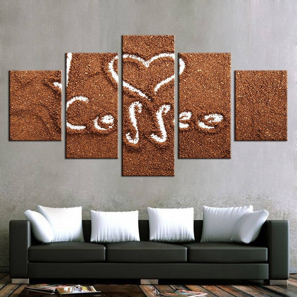 Aliexpress : Buy Modular Canvas Paintings Wall Art Frame For Within Most Current Modular Wall Art (View 7 of 25)