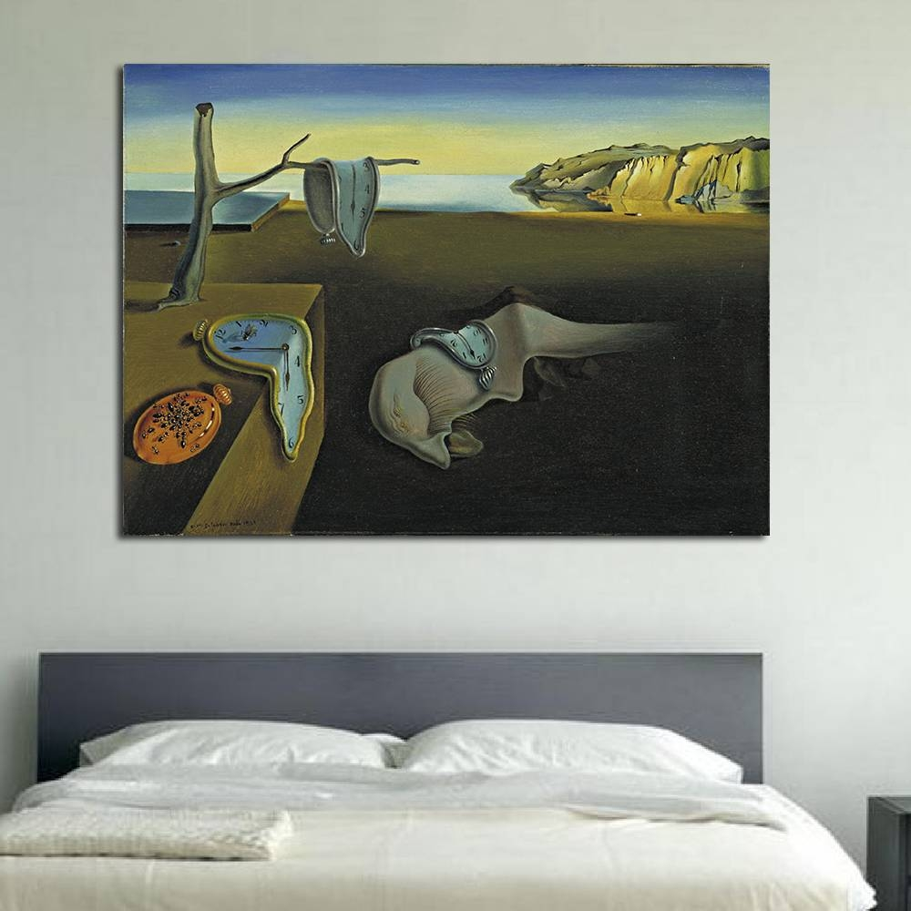 Aliexpress : Buy Qcart Salvador Dali Abstract Oil Painting The Inside 2017 Salvador Dali Wall Art (View 1 of 20)