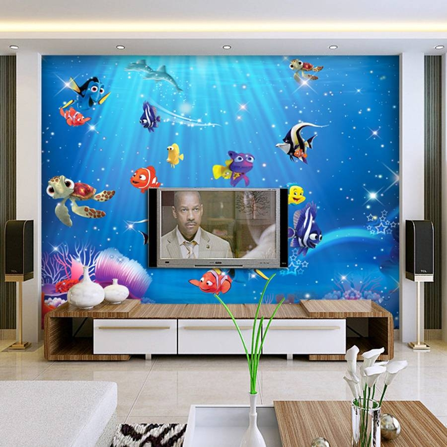 Aliexpress : Buy Wholesale 3D Wall Murals Wallpaper For Baby In Most Up To Date 3D Wall Art Wallpaper (View 5 of 20)