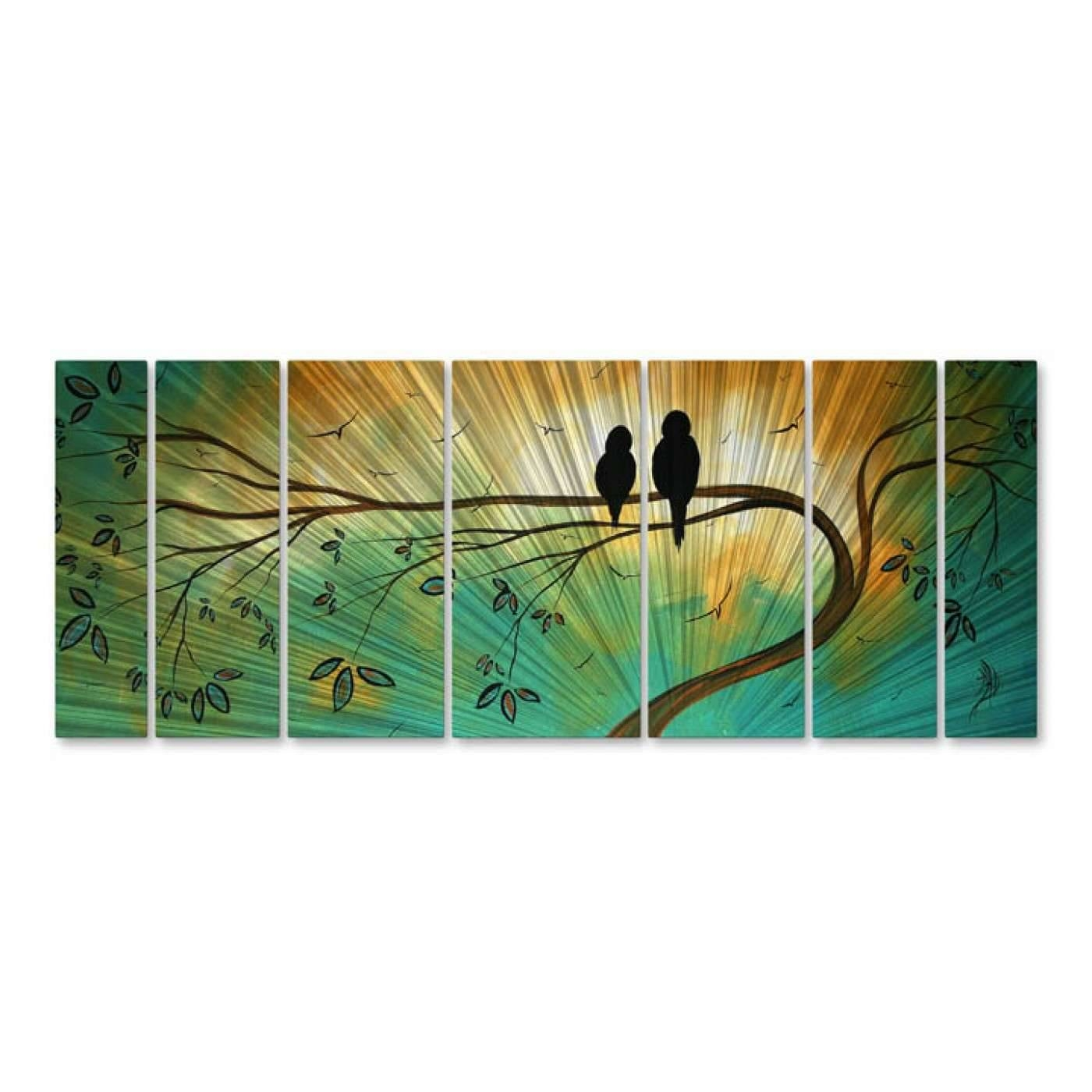 All My Walls Mad00120 Decor | Goedeker's With Current Megan Duncanson Metal Wall Art (View 6 of 25)