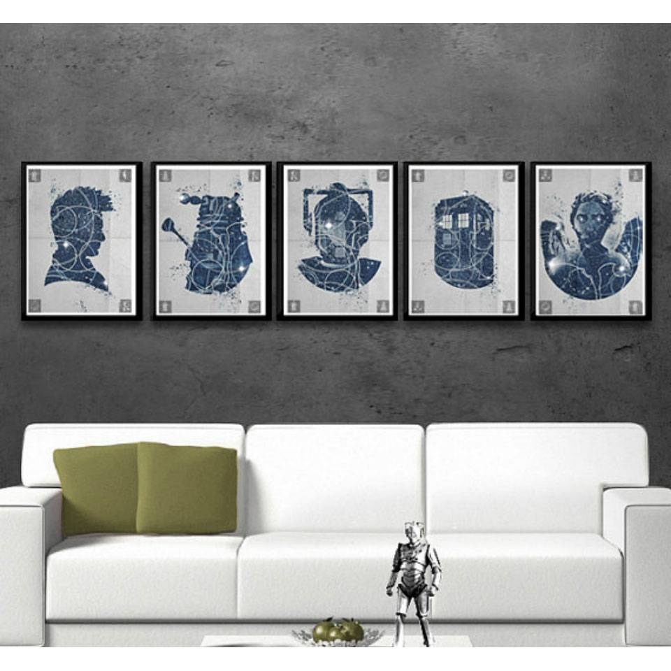 All The Gifts You Need For The 'doctor Who' Fans In Your Family Regarding Most Popular Doctor Who Wall Art (View 9 of 33)