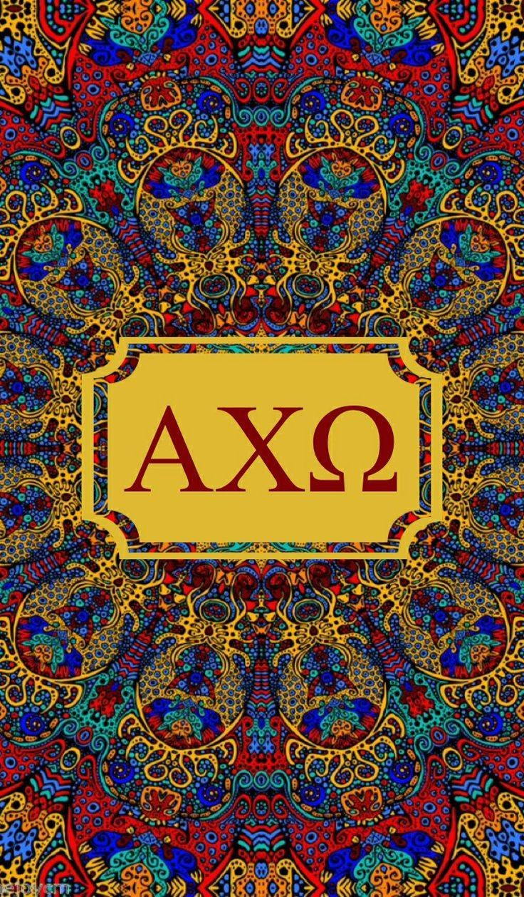 Alpha Chi Omega Kaleidoscope Iphone Monogram Background! | Alpha Pertaining To Most Up To Date Kaleidoscope Wall Art (View 5 of 20)