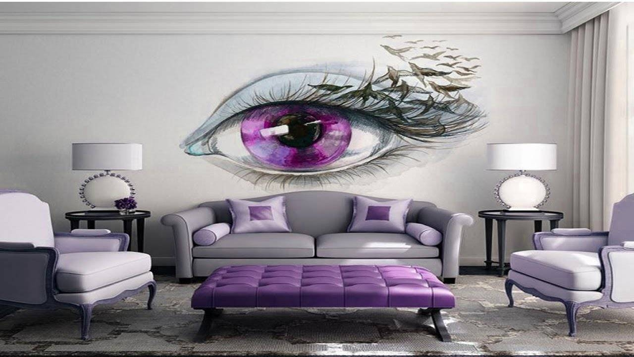 Amazing 3D Wall Art Design Ideas | 3D Wall Painting For Your For Recent 3D Wall Art And Interiors (View 8 of 20)