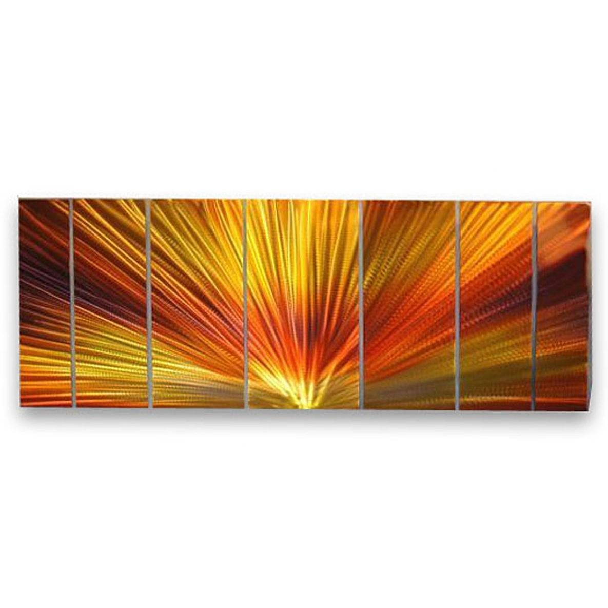 Amazing Design Orange Wall Art Lovely Ideas All My Walls Abstract Within Latest Ash Carl Metal Art (View 2 of 30)