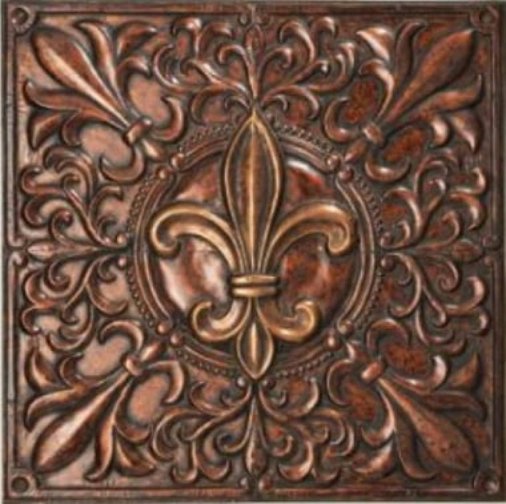 Amazing Fleur De Lis Metal Wall Decor Designs | Interior Decoration With Regard To Most Popular Fleur De Lis Metal Wall Art (View 15 of 25)