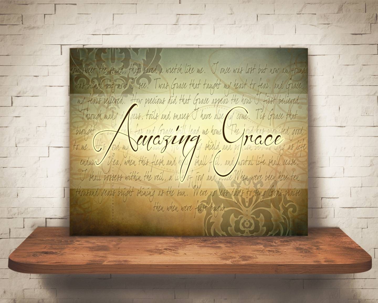 Amazing Grace Wall Art – Artsy Pumpkin In Most Recently Released Grace Wall Art (Gallery 1 of 25)