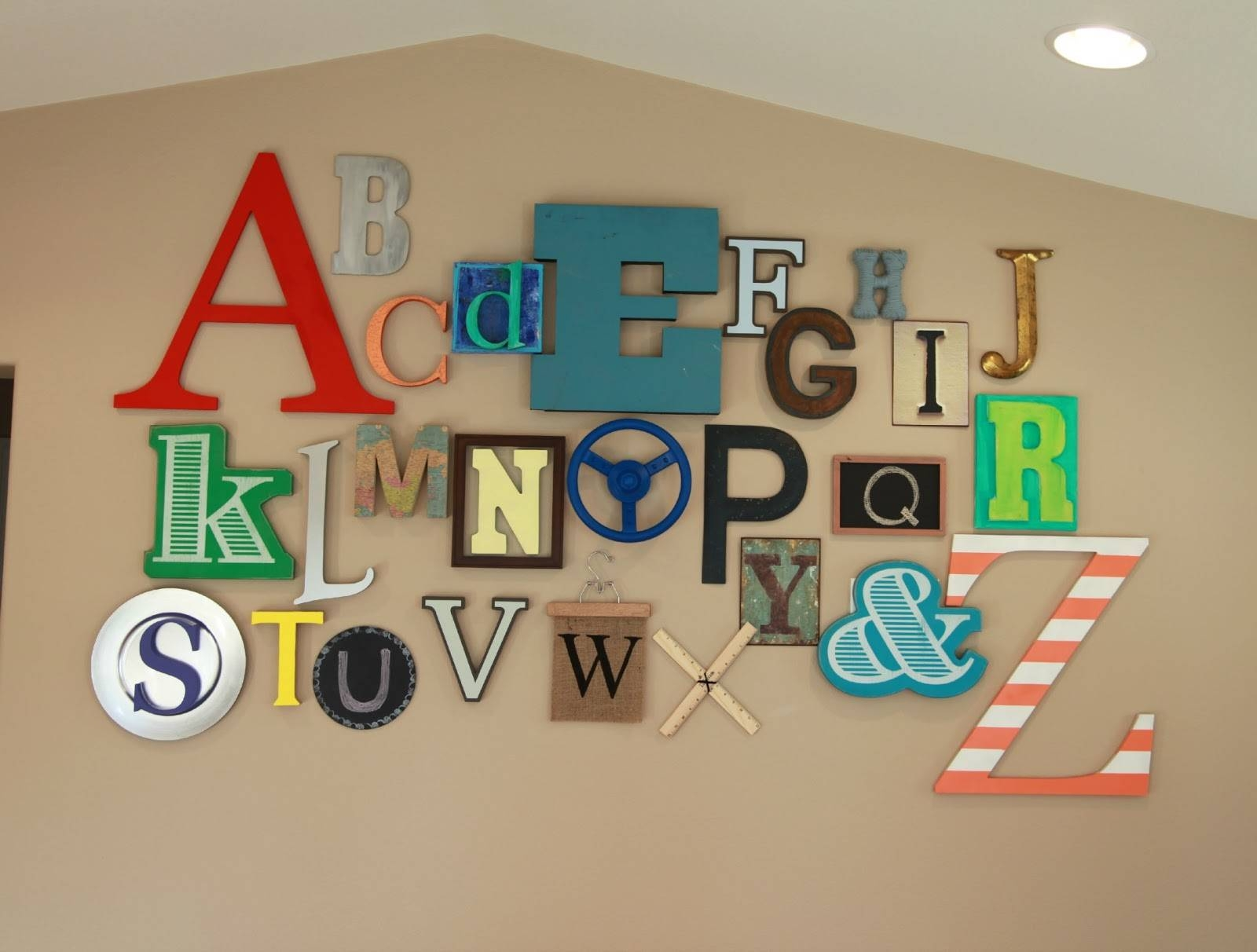 Amazing Ideas Playroom Wall Decor Stunning Playroom Art Wall Decor Pertaining To Recent Playroom Wall Art (View 2 of 30)