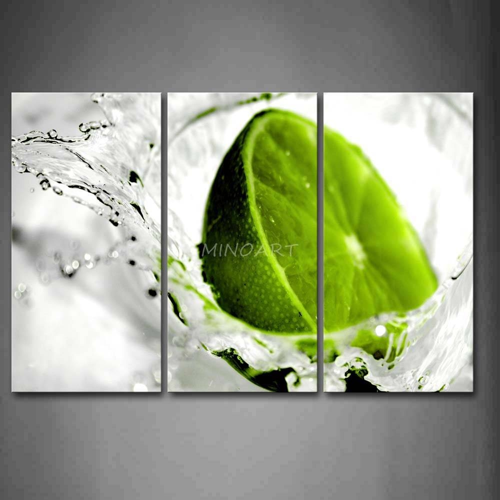 Amazing Lime Green Wall Art Stickers Piece Wall Art Painting Lime In Most Current Lime Green Wall Art (View 3 of 20)