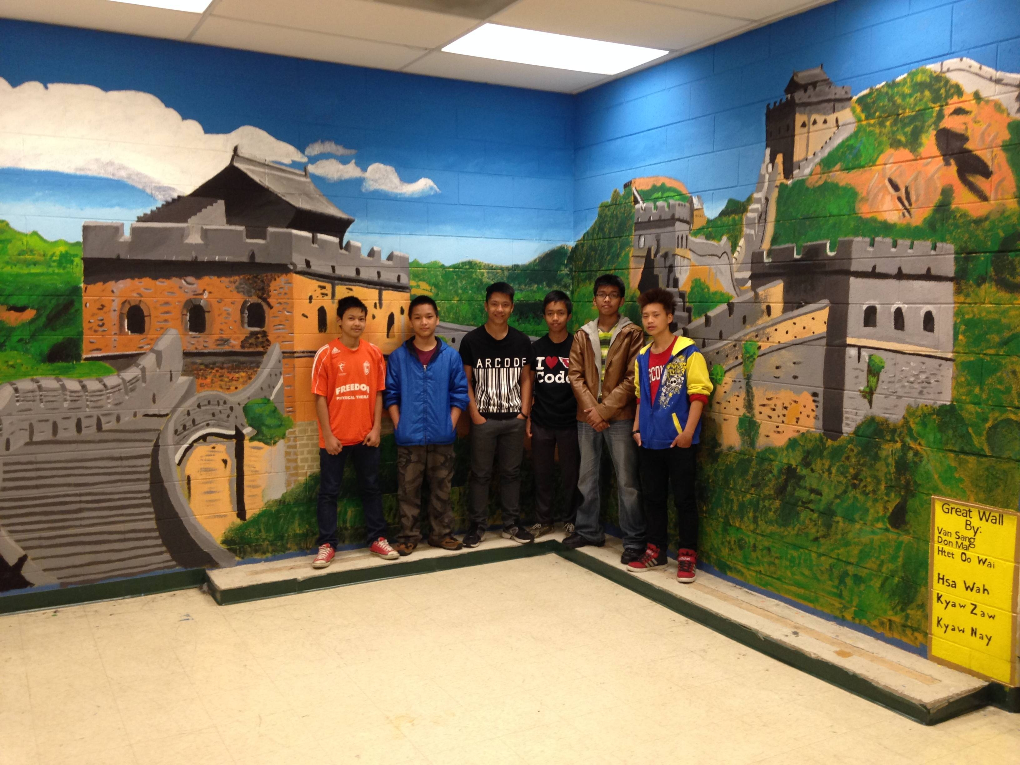 Amazing Wall Murals Cool 23 John Pugh – Amazing 3D Wall Murals For Most Current Great Wall Of China 3D Wall Art (View 4 of 20)