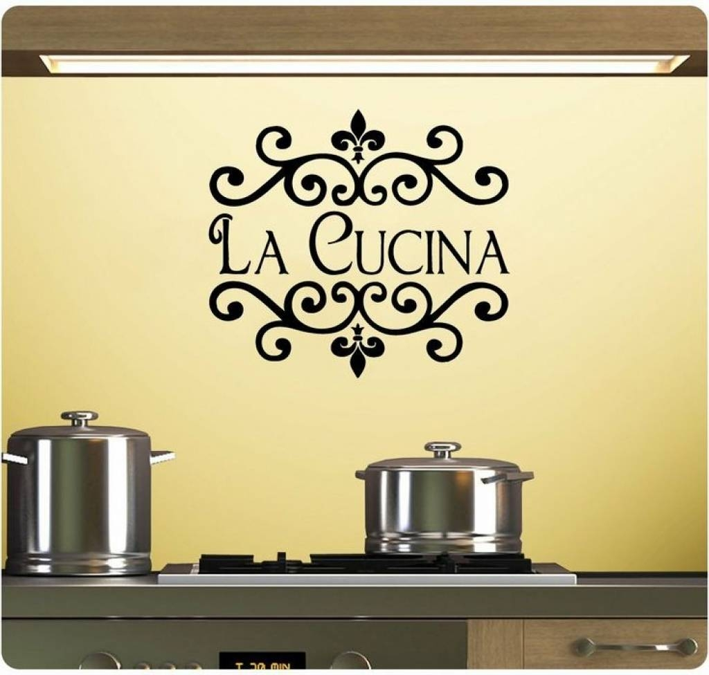 Featured Photo of Cucina Wall Art
