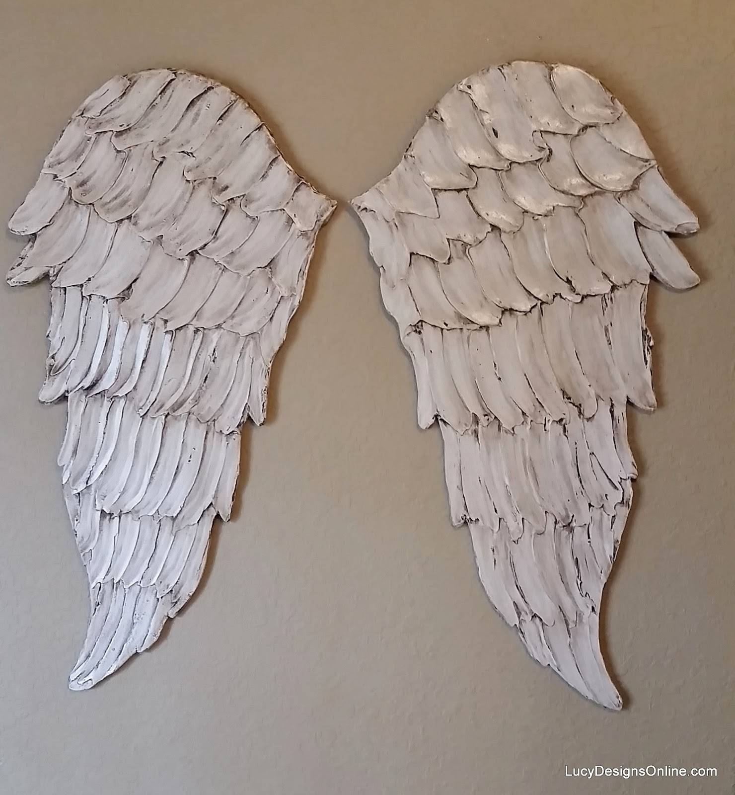 Angel Wings Textured Wood, Wall Art, Carved Wood Look, Angel Wing With Recent Angel Wings Wall Art (View 4 of 20)