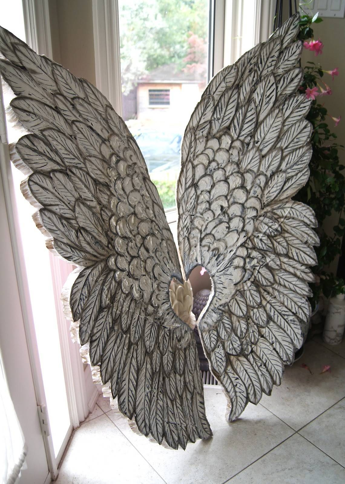 Angel Wings Wall Decor Artistic : Angel Wings Wall Decor Design Inside Current Angel Wings Sculpture Plaque Wall Art (View 2 of 20)