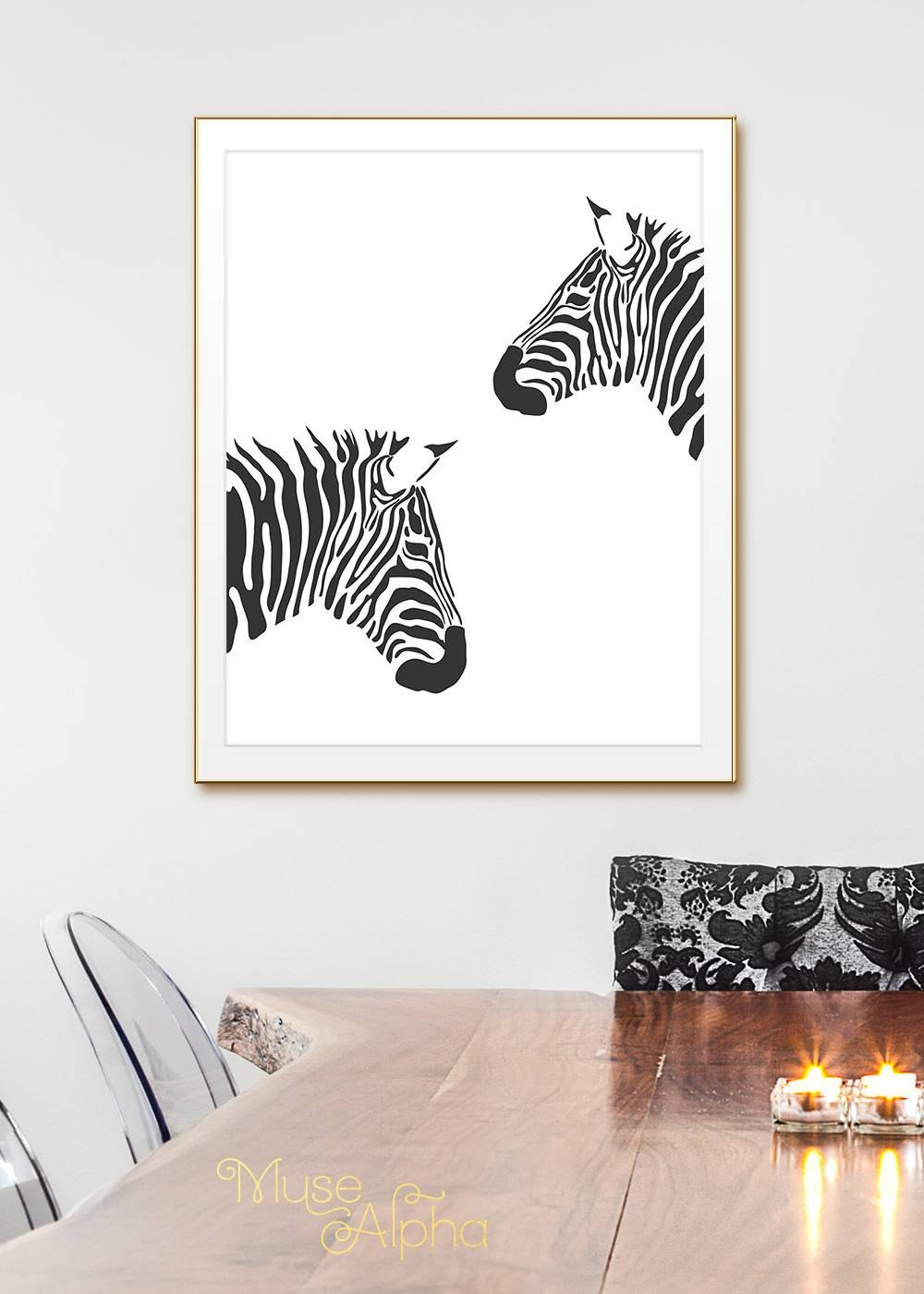 Animal Wall Art Animal Black And White Prints (View 9 of 25)