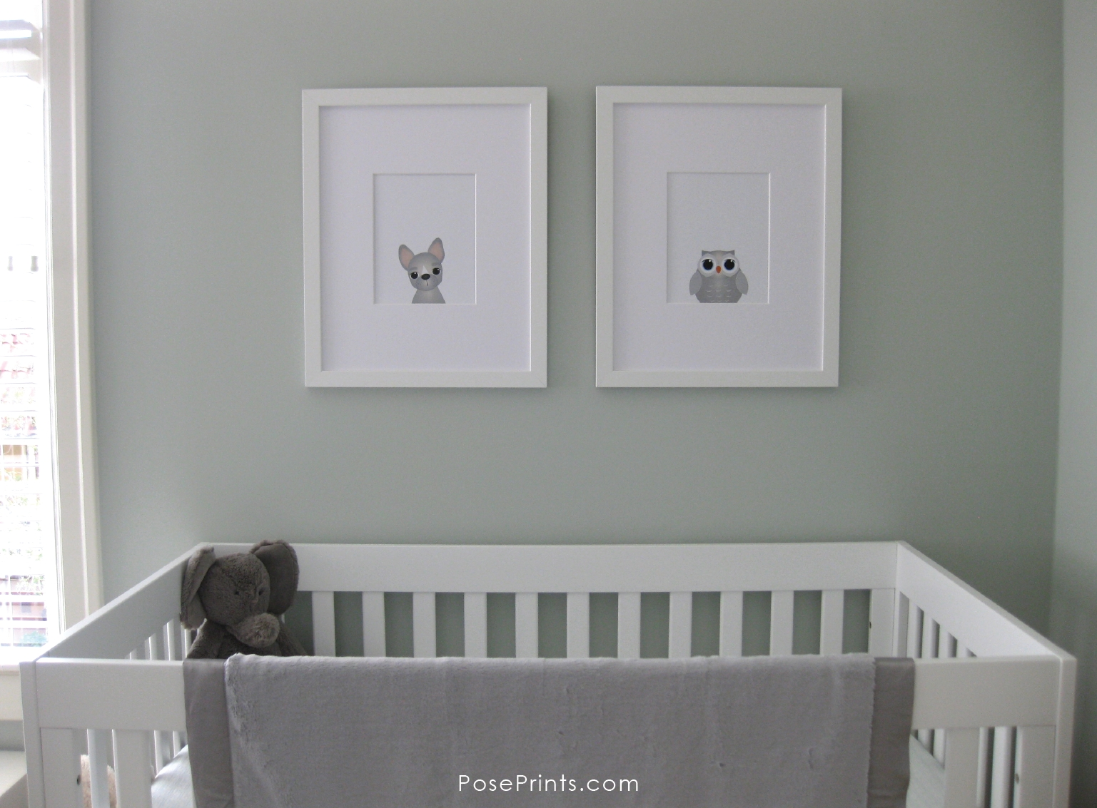 Animal Wall Art For Nursery Archives – Personalized Stationery With Newest Nursery Framed Wall Art (View 1 of 20)