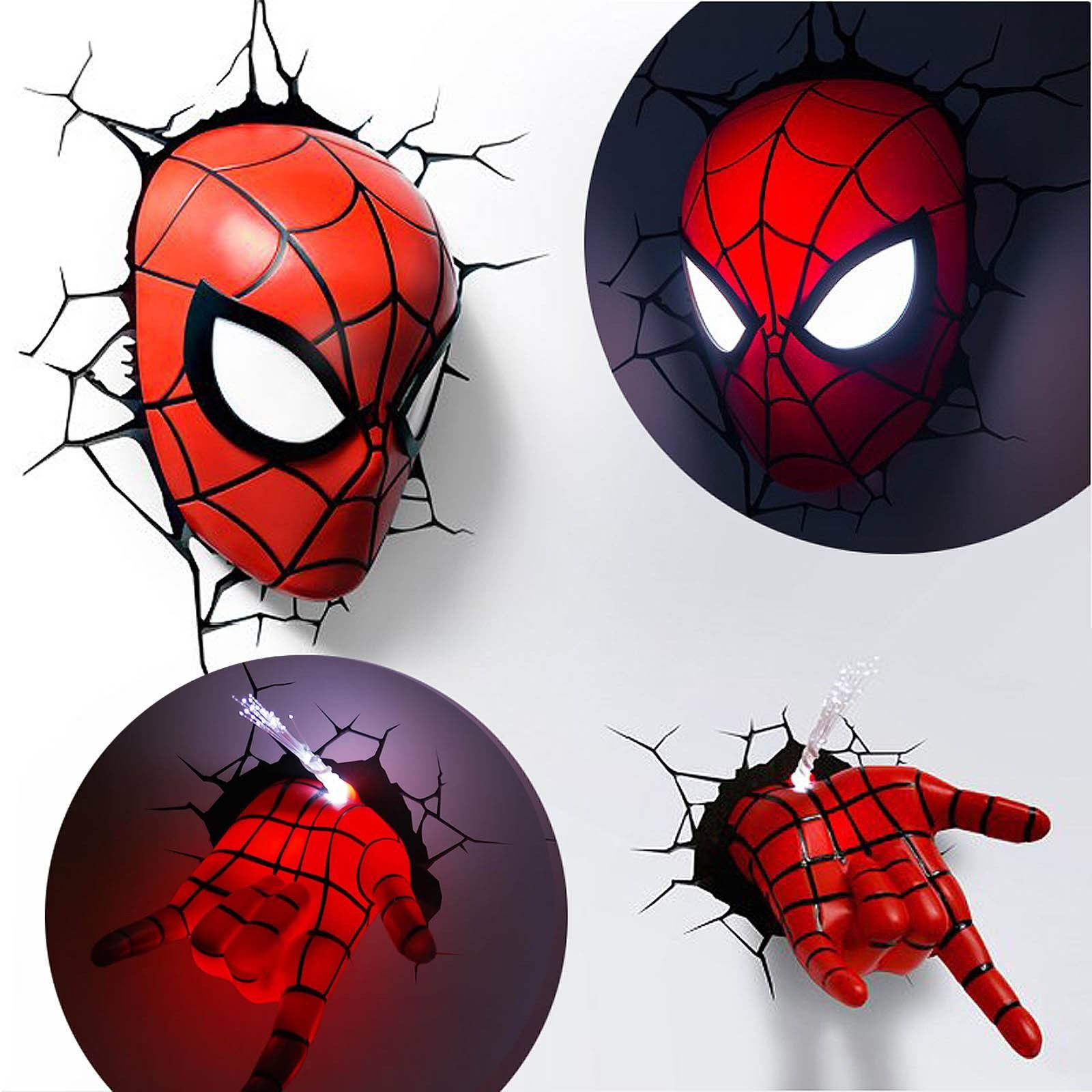 Animation Art , Animation Art – Characters , Men Inside Recent 3d Wall Art Night Light Spiderman Hand (View 12 of 20)