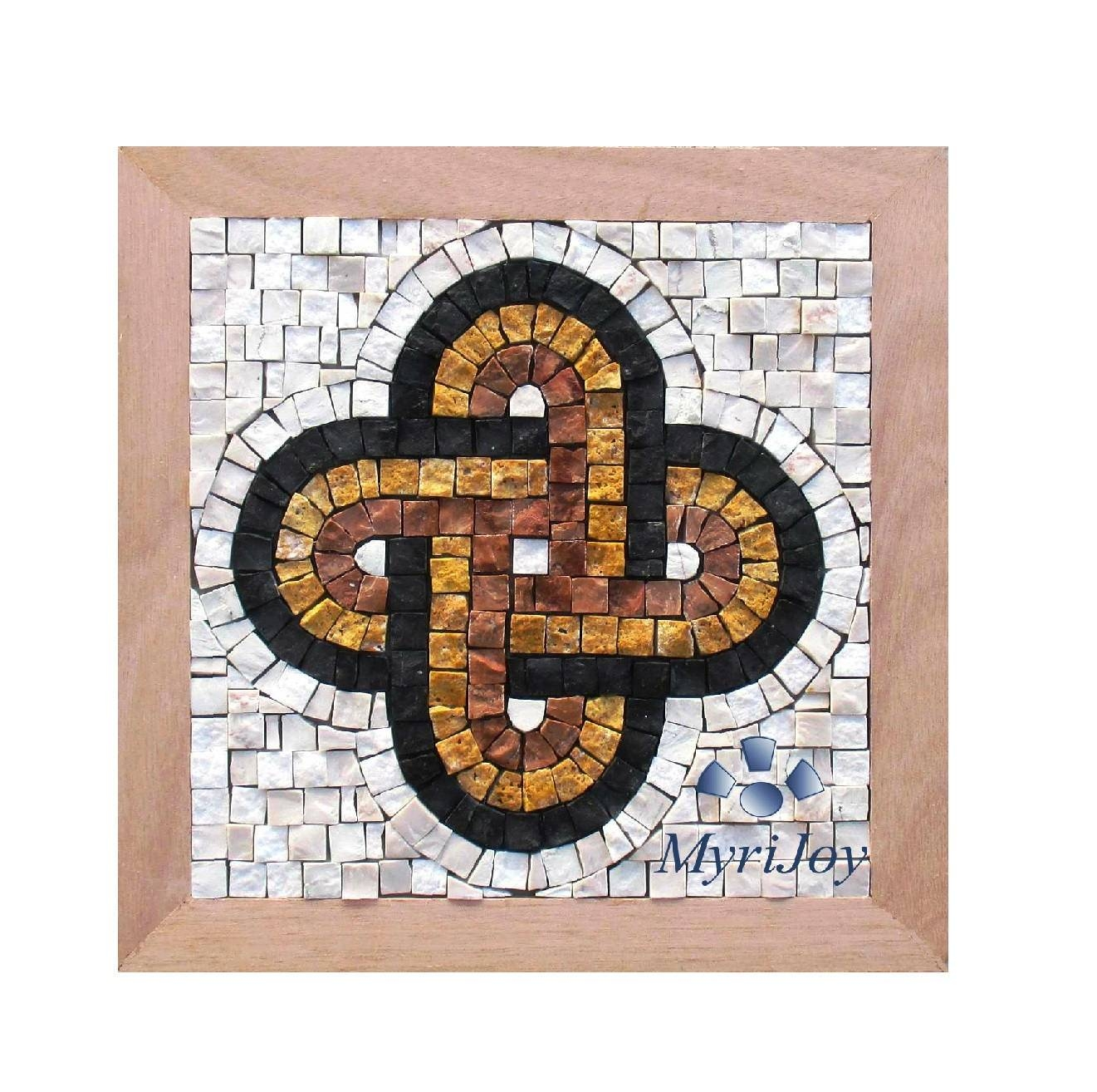 "Anniversary Diy Gift Mosaic Kit Solomon's Knot 9""x9"" Mosaic Wall Pertaining To Newest Mosaic Art Kits For Adults (View 4 of 20)"